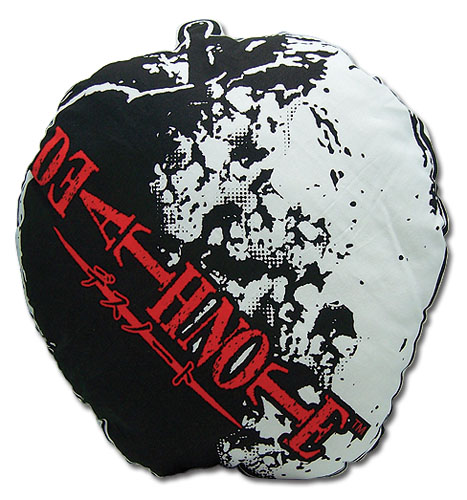 Death Note Apple Pillow, an officially licensed Death Note Pillow