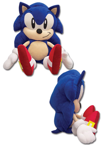 Sonic Classic Sonic Cuddle Pillow, an officially licensed product in our Sonic Pillows department.