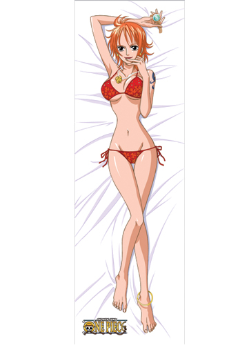 One Piece Nami Bikini Body Pillow, an officially licensed product in our One Piece Pillows department.