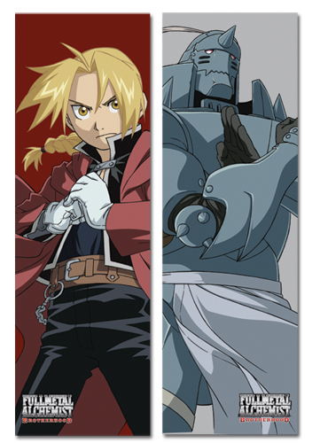 Full Metal Alchemist Brotherhood Ed And Al Body Pillow, an officially licensed product in our Fullmetal Alchemist Pillows department.