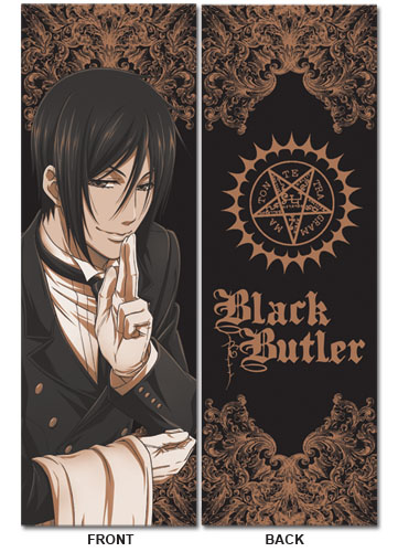 Black Butler Sebastian Body Pillow, an officially licensed product in our Black Butler Pillows department.