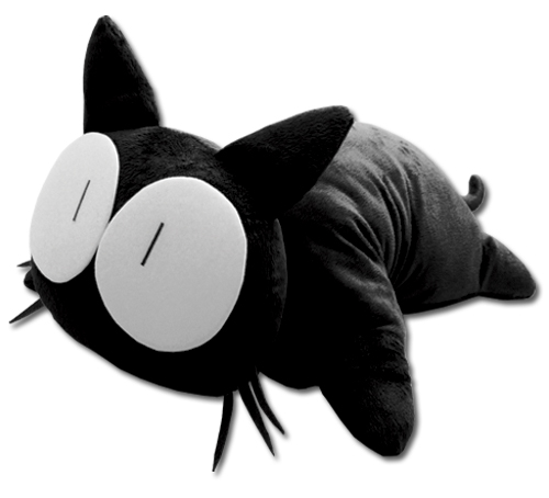 Flcl Takkun Cat Pillow, an officially licensed product in our Flcl Pillows department.