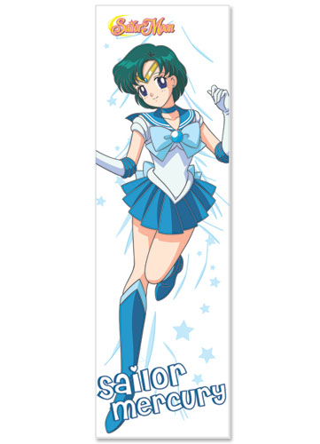 Sailormoon Sailor Mercury Body Pillow, an officially licensed product in our Sailor Moon Pillows department.