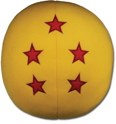 Dragon Ball Z # 5 Plush Pillow, an officially licensed Dragon Ball Z product at B.A. Toys.