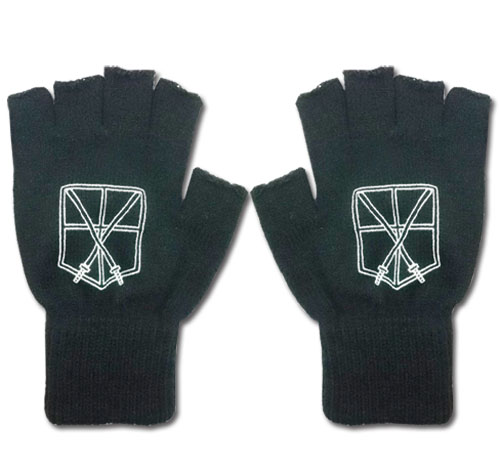 Attack On Titan - Cadet Corps Gloves, an officially licensed Attack On Titan product at B.A. Toys.