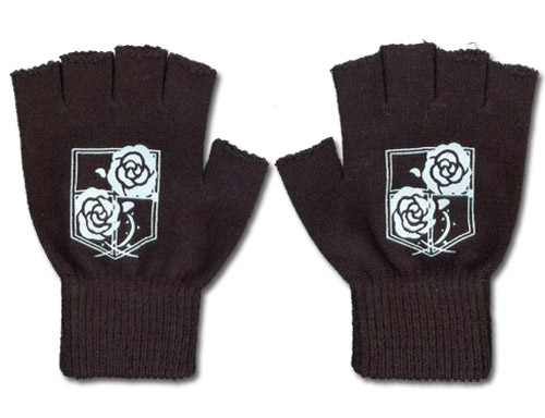Attack On Titan - Garrison Regiment Gloves, an officially licensed product in our Attack On Titan Costumes & Accessories department.