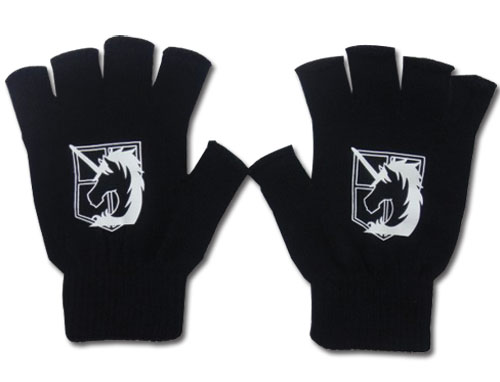 Attack On Titan - - Military Police Regiment Gloves, an officially licensed product in our Attack On Titan Costumes & Accessories department.