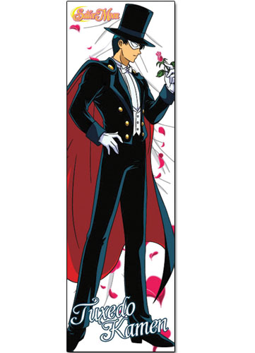 Sailormoon Tuxedo Body Pillow, an officially licensed product in our Sailor Moon Pillows department.