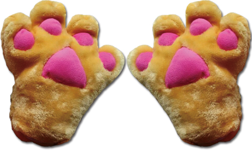 Great Eastern - Brown Paw Plush Glove, an officially licensed product in our Great Eastern Costumes & Accessories department.