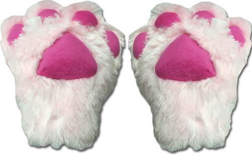 Great Eastern - Pink Paw Plush Glove, an officially licensed product in our Great Eastern Costumes & Accessories department.