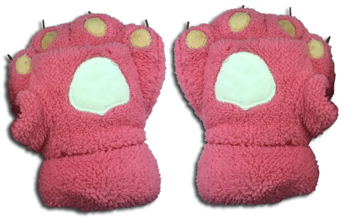 Great Eastern - Pink Paw Push Gloves, an officially licensed product in our Great Eastern Costumes & Accessories department.