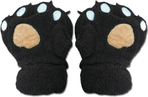 Great Eastern - Gray Paw Fingerless Plush Pr Gloves, an officially licensed product in our Great Eastern Costumes & Accessories department.