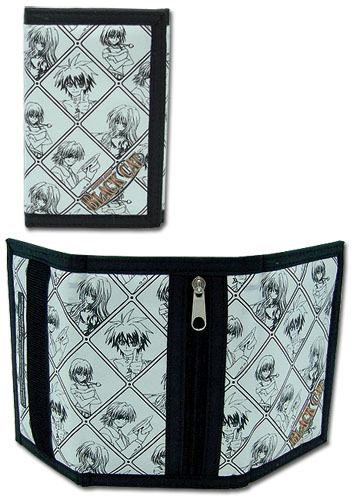 Black Cat Character Checker Wallet, an officially licensed Black Cat product at B.A. Toys.