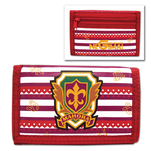 Negima School Logo Wallet, an officially licensed product in our Negima Wallet & Coin Purse department.