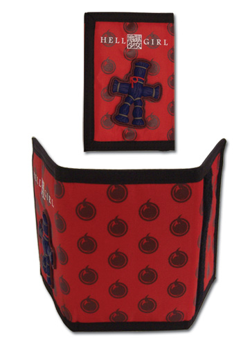 Hell Girl Straw Doll Polyester Wallet, an officially licensed product in our Hell Girl Wallet & Coin Purse department.