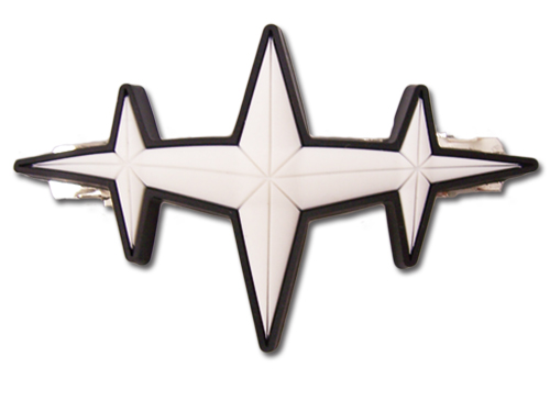 Kill La Kill - 3 Mstar Goku Hair Clip, an officially licensed product in our Kill La Kill Costumes & Accessories department.