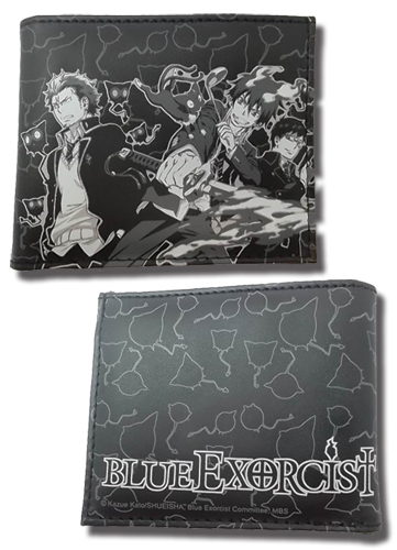 Blue Exorcist Group Wallet, an officially licensed Blue Exorcist Wallet & Coin Purse