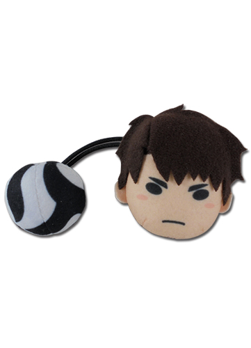 Haikyu!! S2 - Ushijima Plush Hair Tie officially licensed Haikyu!! Costumes & Accessories product at B.A. Toys.