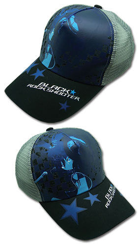 Black Rock Shooter Black Rock Shooter Cap, an officially licensed Black Rock Shooter product at B.A. Toys.
