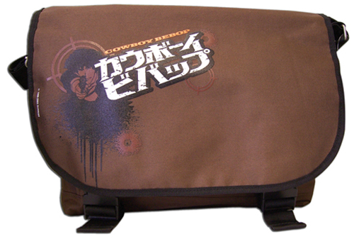 Cowboy Bebop W/Bullet Holes Messenger Bag, an officially licensed product in our Cowboy Bebop Bags department.