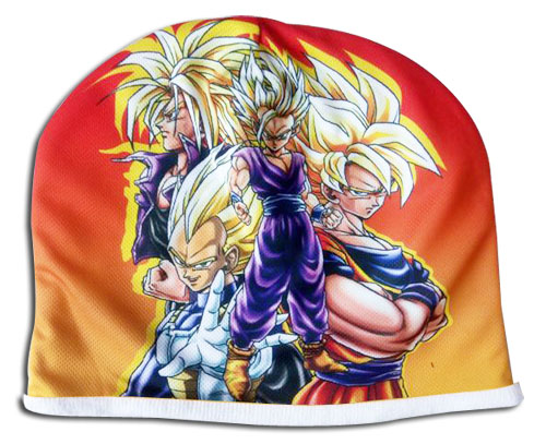 Dragon Ball Z - Super Saiyans Fleece Cap officially licensed Dragon Ball Z Hats, Caps & Beanies product at B.A. Toys.