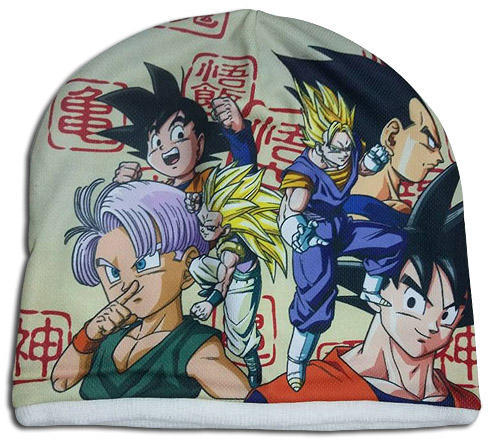 Dragon Ball Z - Fusion Fleece Sublimated Cap officially licensed Dragon Ball Z Hats, Caps & Beanies product at B.A. Toys.