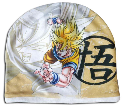 Dragon Ball Z - Super Saiyan Goku Fleece Cap officially licensed Dragon Ball Z Hats, Caps & Beanies product at B.A. Toys.