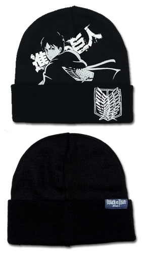 Attack On Titan - Eren Watchman Beanie, an officially licensed Attack On Titan product at B.A. Toys.