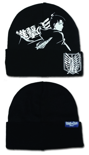 Attack On Titan - Levi Watchman Beanie, an officially licensed product in our Attack On Titan Hats, Caps & Beanies department.