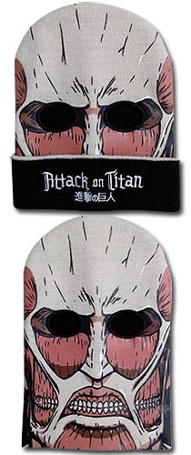 Attack On Titan - Titan Ski Mask officially licensed Attack On Titan Hats, Caps & Beanies product at B.A. Toys.