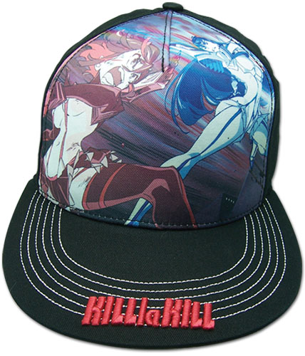 Kill La Kill - Ryuko Vs Satsuki Cap officially licensed Kill La Kill Hats, Caps & Beanies product at B.A. Toys.