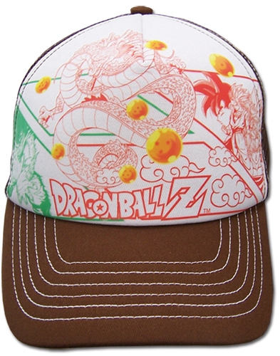 Dragon Ball Z Manga Trucker Cap officially licensed product at B.A. Toys.