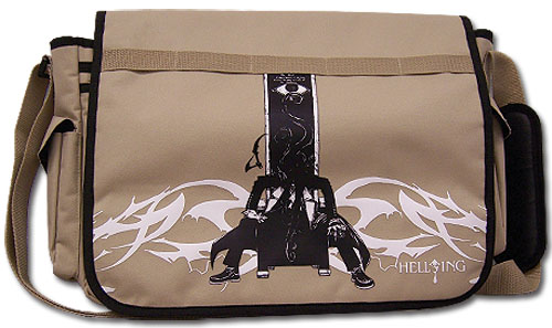 Hellsing Ova Poster Art Messenger Bag, an officially licensed product in our Hellsing Bags department.