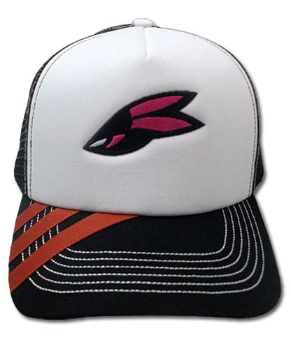 Tiger & Bunny Barnaby Emblem Trucker Cap, an officially licensed Tiger & Bunny Cap