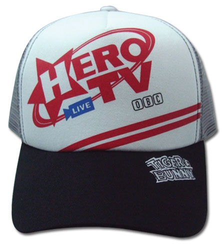 Tiger & Bunny Hero Tv Logo Cap, an officially licensed Tiger & Bunny Cap