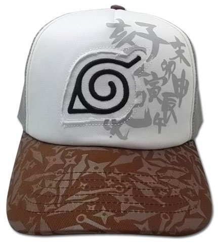 Naruto Shippuden Time Trucker Cap officially licensed Naruto Shippuden Hats, Caps & Beanies product at B.A. Toys.