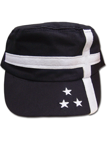 Black Rock Shooter - Insane Black Rock Shooter Girl Cadet, an officially licensed Black Rock Shooter Cap