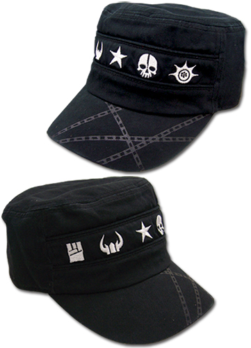 Black Rock Shooter Icon Girl Cadet Cap, an officially licensed Black Rock Shooter Cap