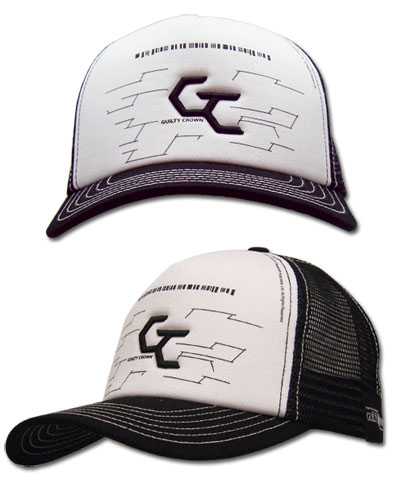 Guilty Crown Cg Logo Trucker Cap, an officially licensed product in our Guilty Crown Hats, Caps & Beanies department.