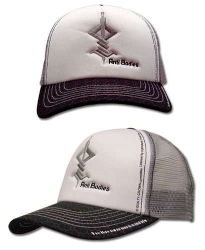 Guilty Crown Anti Bodies Icon Trucker Cap, an officially licensed product in our Guilty Crown Hats, Caps & Beanies department.