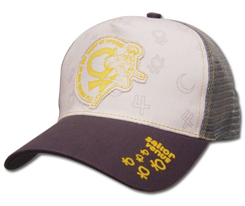 Sailormoon Venus Trucker Cap, an officially licensed product in our Sailor Moon Hats, Caps & Beanies department.