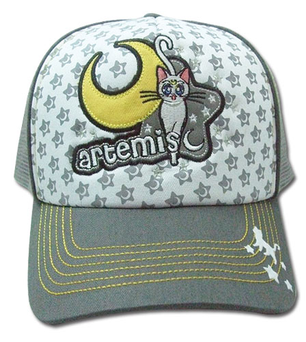 Sailormoon Artemis Trucker Cap, an officially licensed product in our Sailor Moon Hats, Caps & Beanies department.