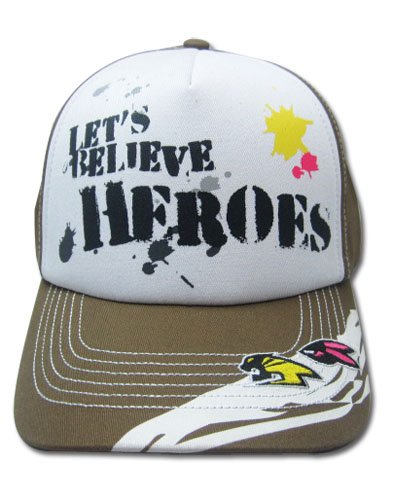 Tiger & Bunny Let's Believe Heros Cap, an officially licensed Tiger & Bunny Cap