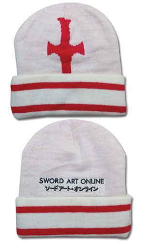 Sword Art Online Asuna Cross Beanie, an officially licensed Sword Art Online Cap