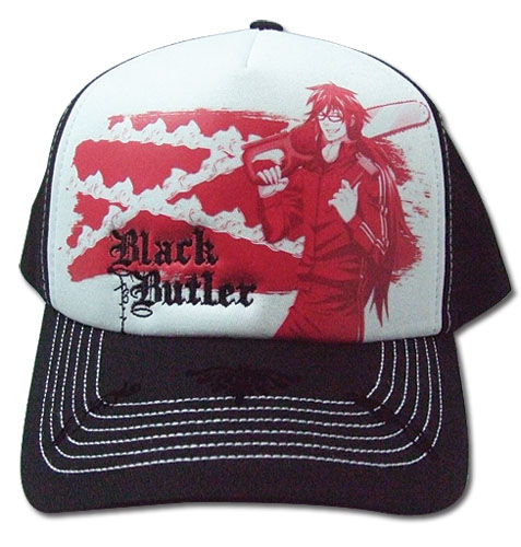 Black Butler Grell Cap, an officially licensed Black Butler product at B.A. Toys.