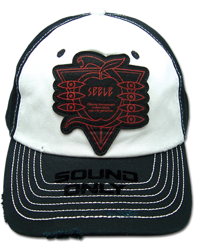 Evangelion New Movie - Sound Only Cap officially licensed Evangelion Hats, Caps & Beanies product at B.A. Toys.