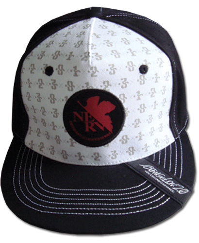 Evangelion New Movie - Mech Pattern Fitted Cap officially licensed product at B.A. Toys.