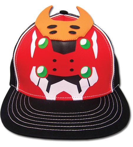 Evangelion New Movie Eva 2 Fitted Cap officially licensed Evangelion Hats, Caps & Beanies product at B.A. Toys.