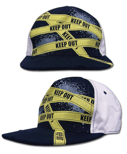 Durarara!! Keep Out Cap officially licensed Durarara!! Hats, Caps & Beanies product at B.A. Toys.