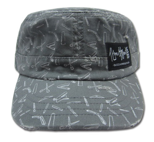 Bakemonogatari - Stationery Cadet Cap, an officially licensed Bakamongatari Cap